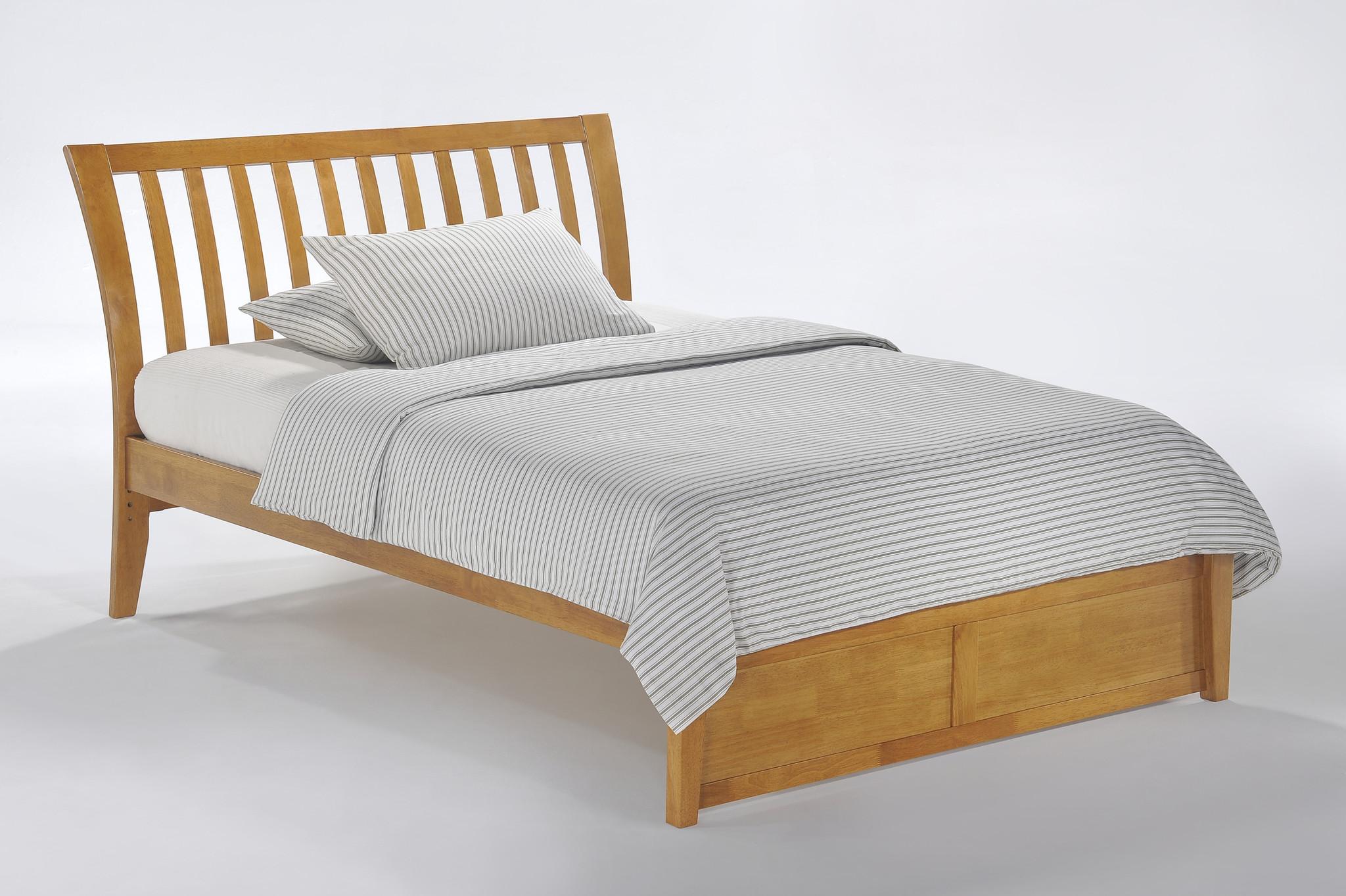 Nutmeg Bed Dual Series · Austin Natural Mattress