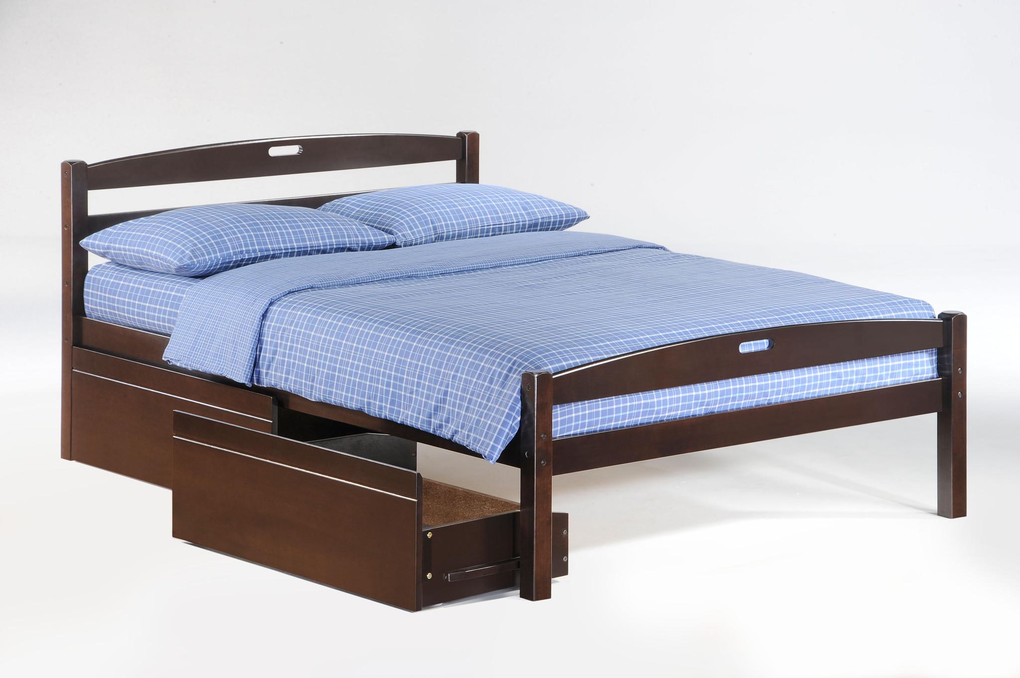 Traditional Mattress Vs Memory Foam Night-_-Day-Sesame-Bed-Full-Dark-Chocolate-w-Drawer-opened.jpg