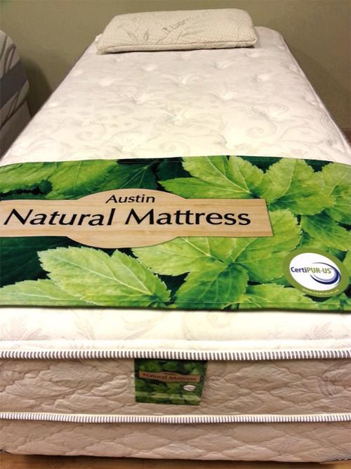 Elite · Austin Natural Mattress