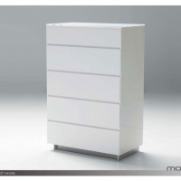 savvy 5 drawer chest white mobital.jpg