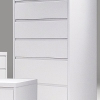 sonar 6 drawer chest matte white mobital bedroom furniture.jpg
