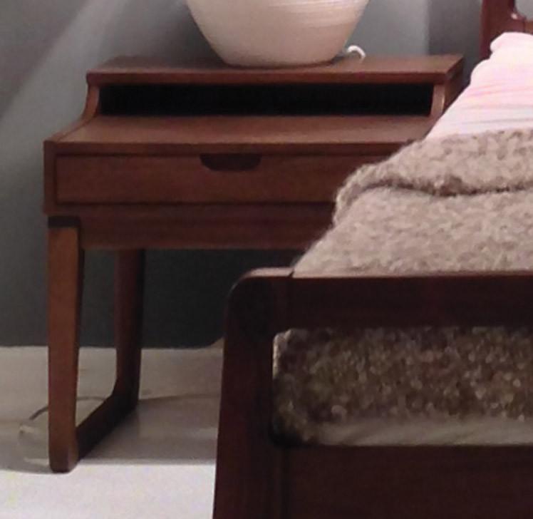 Vernal night table austin natural mattress for American walnut bedroom furniture
