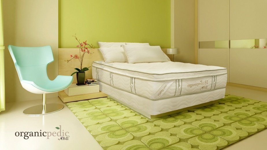 orgaincpedic mattress image