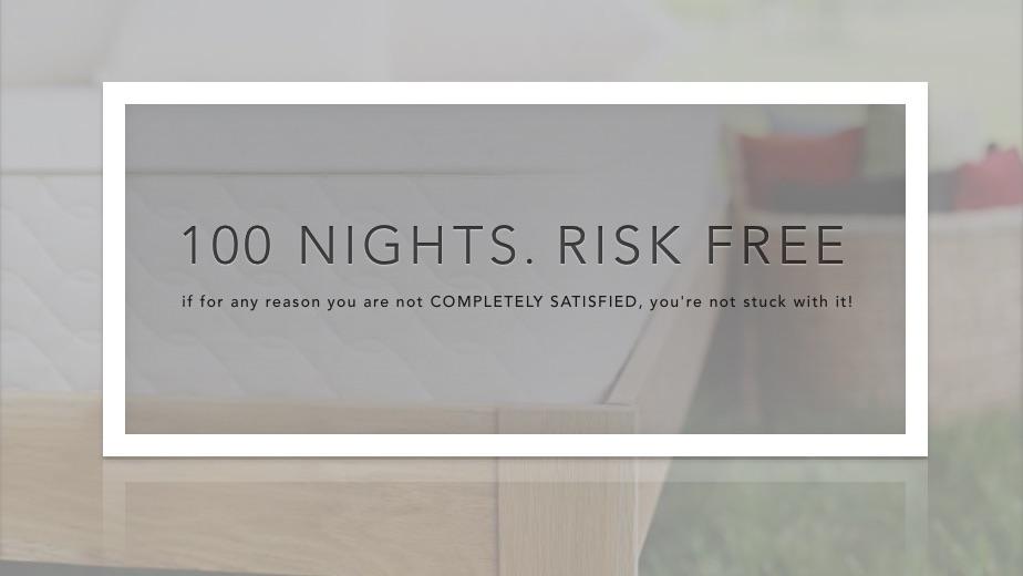 100 nights risk free