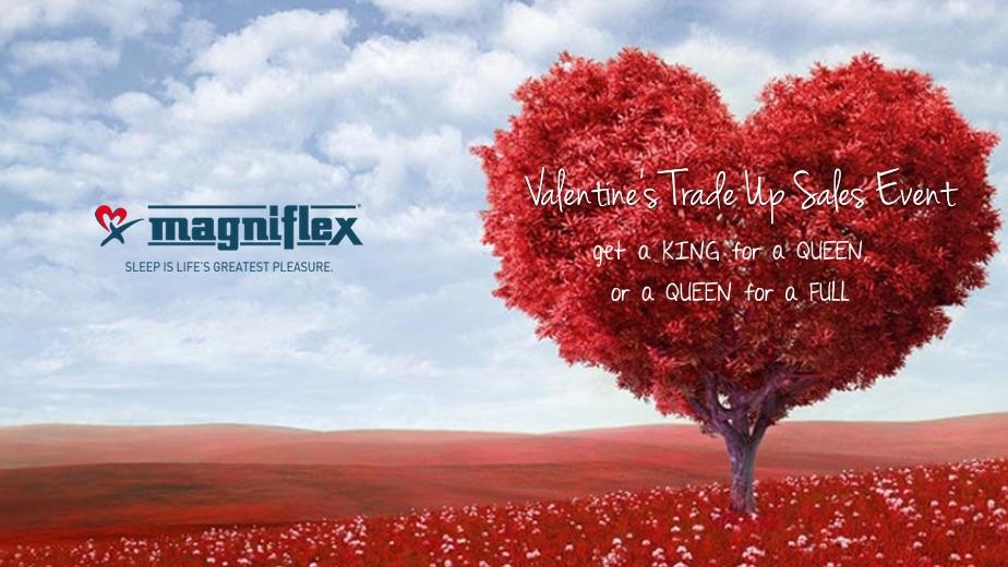 magniflex valentines day 2018