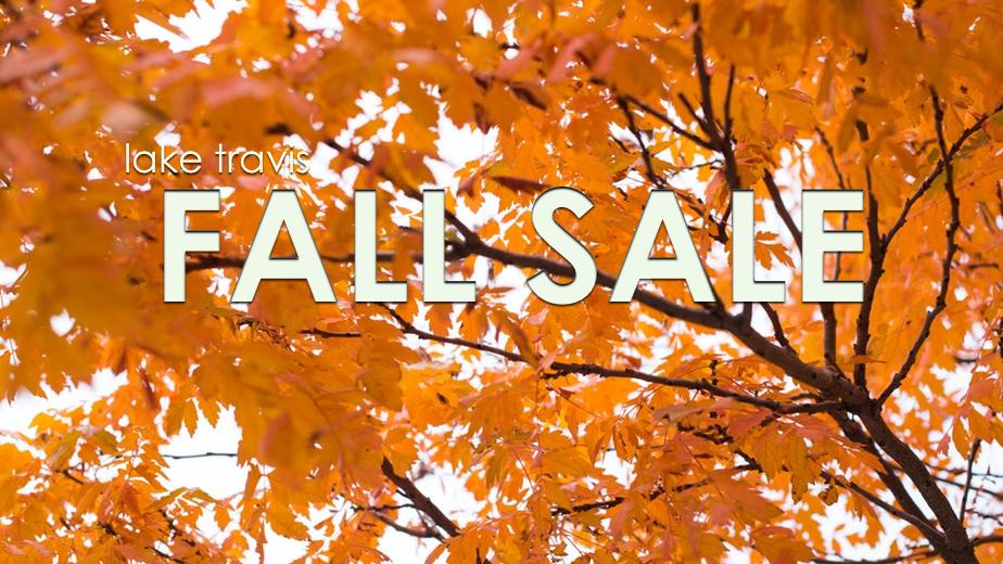 lake travis fall sale 2018