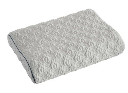 abbraccio wave shaped pillow